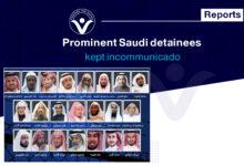Photo of Prominent Saudi detainees kept incommunicado