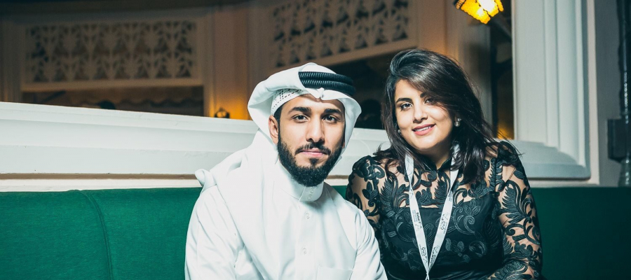 Loujain Al-Hathloul and his brother 2020